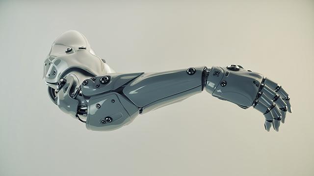Andromeda: Juno Warwick Prosthetic